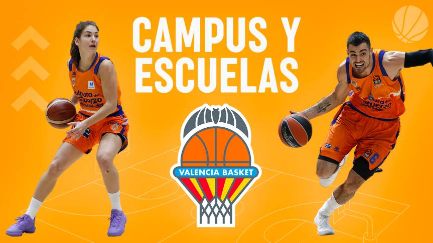 Easter and summer are filled with basketball again with Valencia Basket
