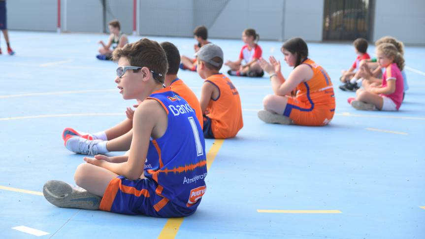 Summer Schools bring together basketball and fun for the little ones