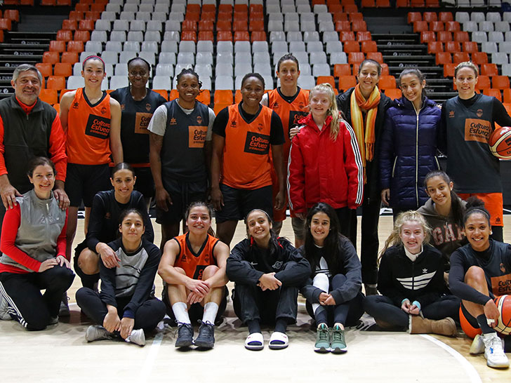 The CDD Asunción from Paraguay, a great experience with Valencia Basket in L'Alqueria