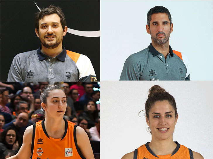 Valencia Basket, protagonism in the youth categories of the Spanish national team