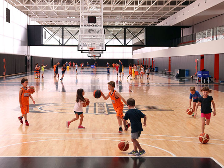 The Valencia Basket Summer School starts its activity