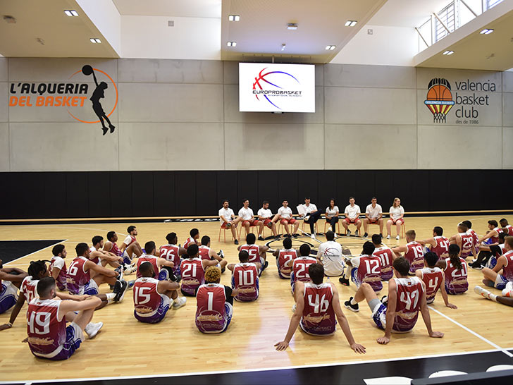 Europrobasket returns to L'Alqueria del Basket